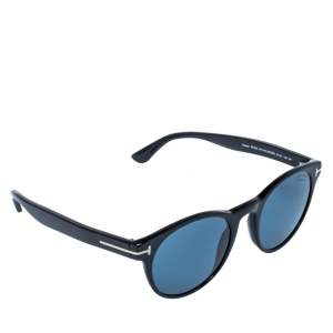 Tom Ford Black/Blue TF 522 Polarized Palmer Sunglasses