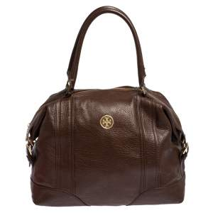 Tory Burch Brown Soft Leather Satchel