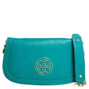 """حقيبة كروس توري برش """"أماندا"""" شعار الماركة جلد"""
