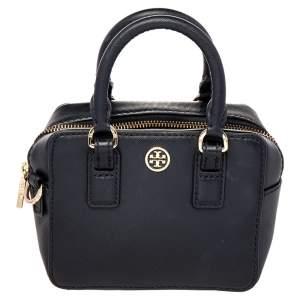 حقيبة كروس توري برش روبنسون جلد أسود