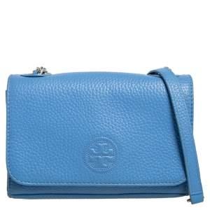 حقيبة كروس توري برش بومب شرونكن جلد أزرق