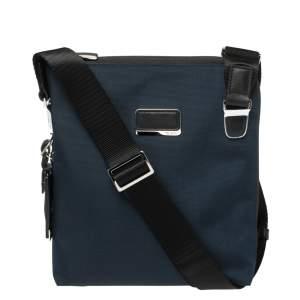Tumi Navy Blue/Black Nylon Arrive Owen Crossbody.Bag