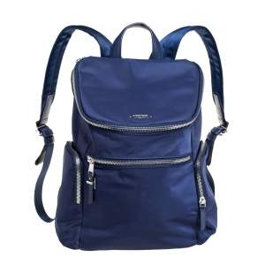 TUMI Navy Blue Nylon Bethany Voyageur Backpack
