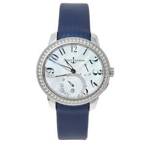ساعة يد نسائية أوليس ناردين جيد  3103-125/591.3 ستانلس ستيل ألماس صدف 39مم