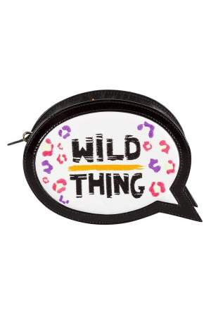 Sophia Webster Multicolor Wild Thing Embroidered Leather Clutch
