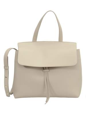 Mansur Gavriel Beige Leather Lady Tote