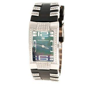 Technomarine Mother of Pearl Stainless Steel and Diamond Women's Wristwatch 24 mm