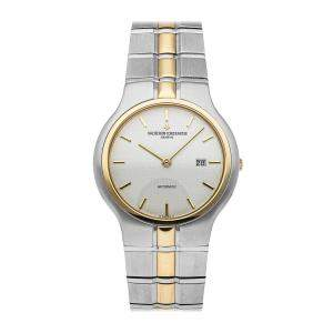 Vacheron Constantin White 18K Yellow Gold And Stainless Steel Phidias 48010/967M-7432Women's Wristwatch 33 MM