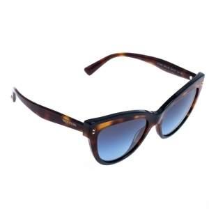 Valentino Brown/Blue Gradient VA4034 Cat Eye Sunglasses