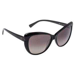 Valentino Black V634S Cat Eye Sunglasses