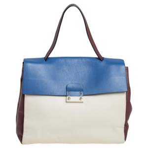 Valentino Tricolor Leather Mime Bag