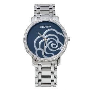 Valentino Black Stainless Steel V56 Women's Wristwatch 36 mm