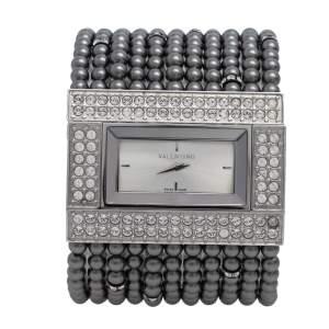 Valentino Silver Stainless Steel 52376 Women's Wristwatch 45 mm