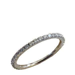 Van Cleef & Arpels Felicite 18K White Gold Diamond EU 46