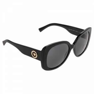 Versace Medusa Black Medusa Icon Squared Sunglasses