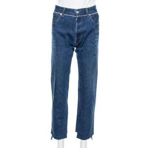 Vetements Blue Denim Reworked Push Up Jeans S