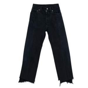 Vetements Black Denim Reworked Push Up Jeans XS