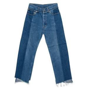 Vetements Two Tone Denim Reworked Jeans S