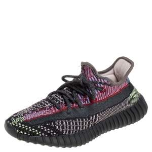 Yeezy x Adidas Multicolor Knit Fabric Boost 350 V2 Yecheil Sneakers Size FR38