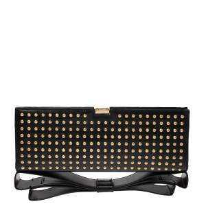 Zac Posen Black  Mila Frame Clutch