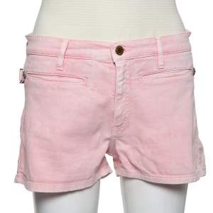 Zadig and Voltaire Pink Denim Shorts M