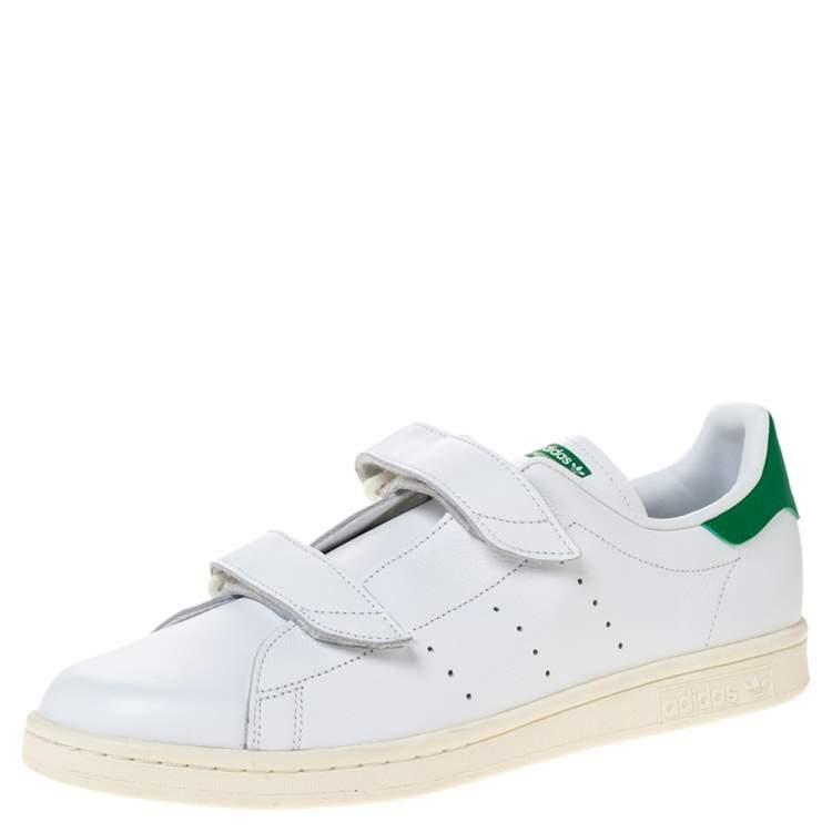 Adidas Stan Smith White Leather Fast Sneaker Size 46 Adidas | TLC