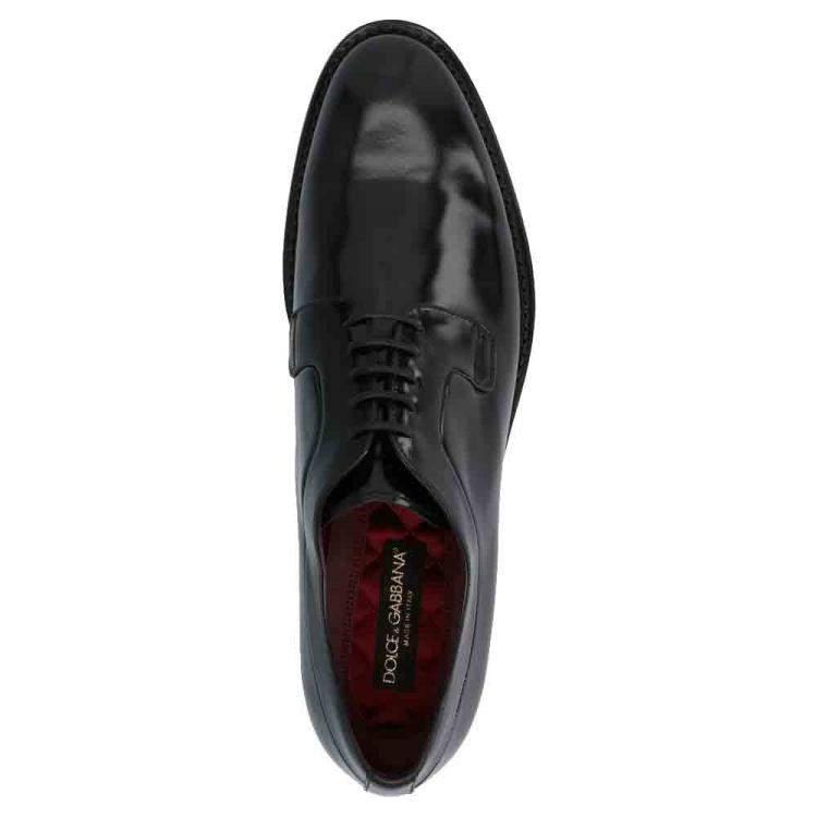 Dolce & Gabbana Black Derby Size EU 42.5