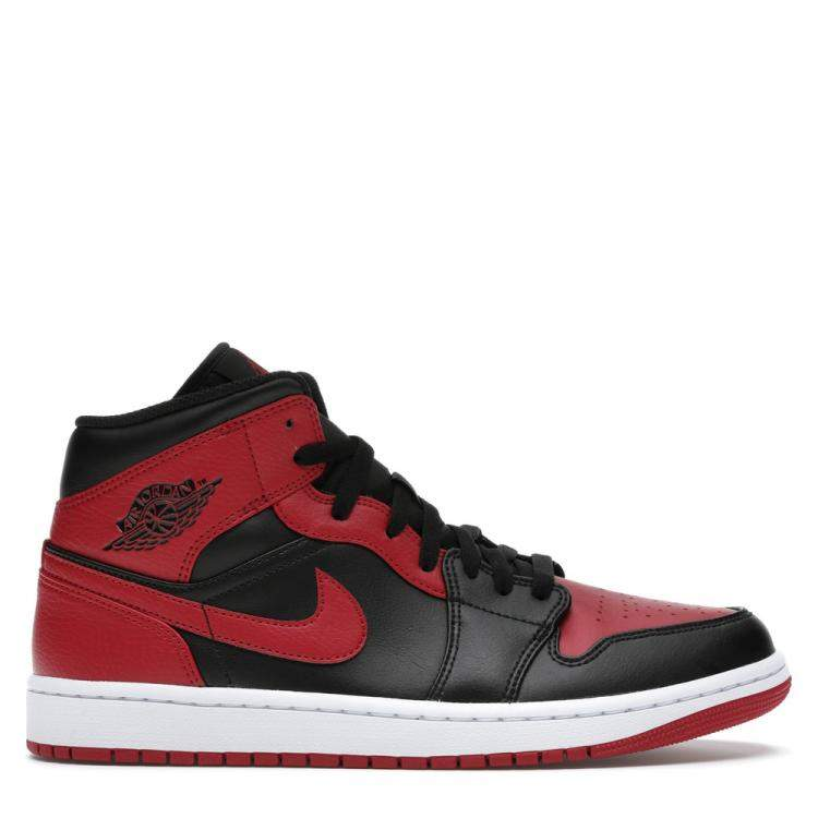 Nike Jordan 1 Mid Banned Sneakers Size EU 38.5 US 6Y Jordan | TLC