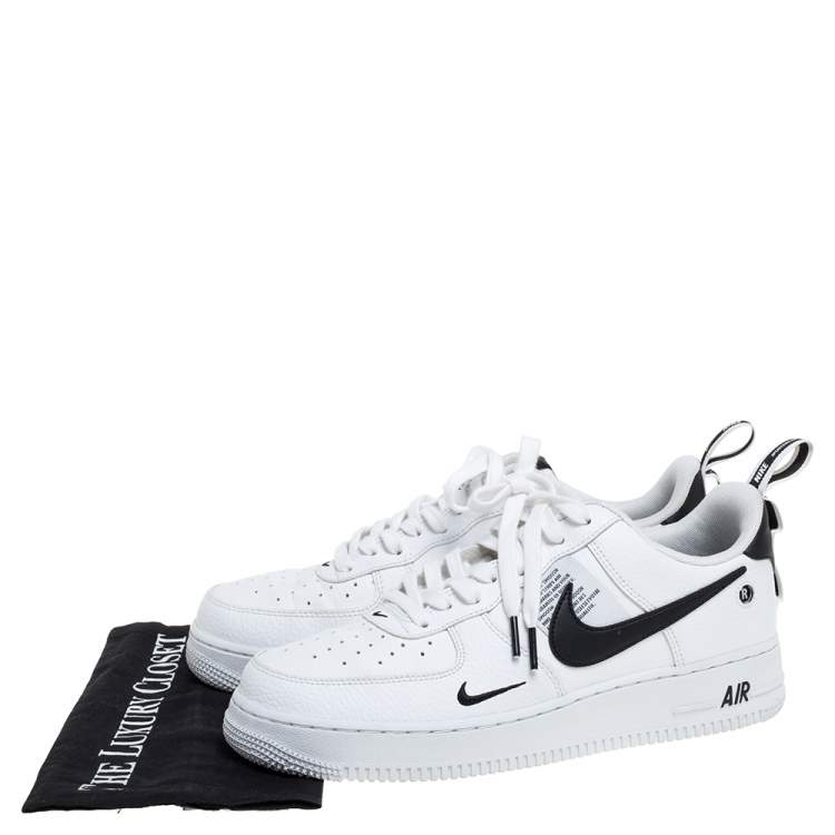 Nike Air Force One White Leather