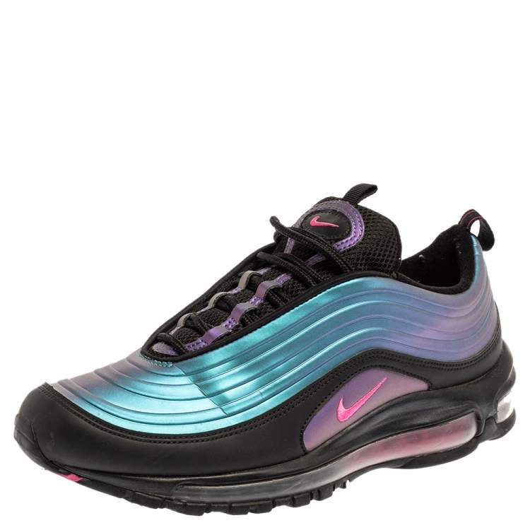 Nike Multicolor Leather And Fabric Air Max 97 Throwback Future ...