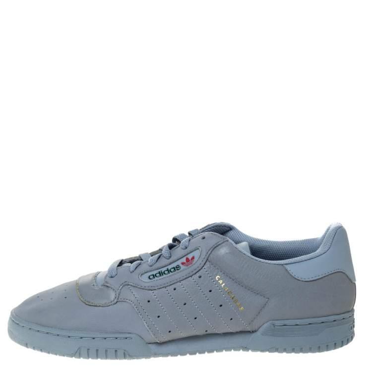 posterior Asesino abeja  Yeezy x Adidas Grey Leather Powerphase Calabasas Sneaker Size 46.5 Yeezy x  Adidas | TLC