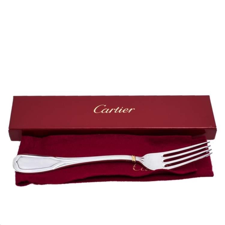 Cartier Silver Service Fork