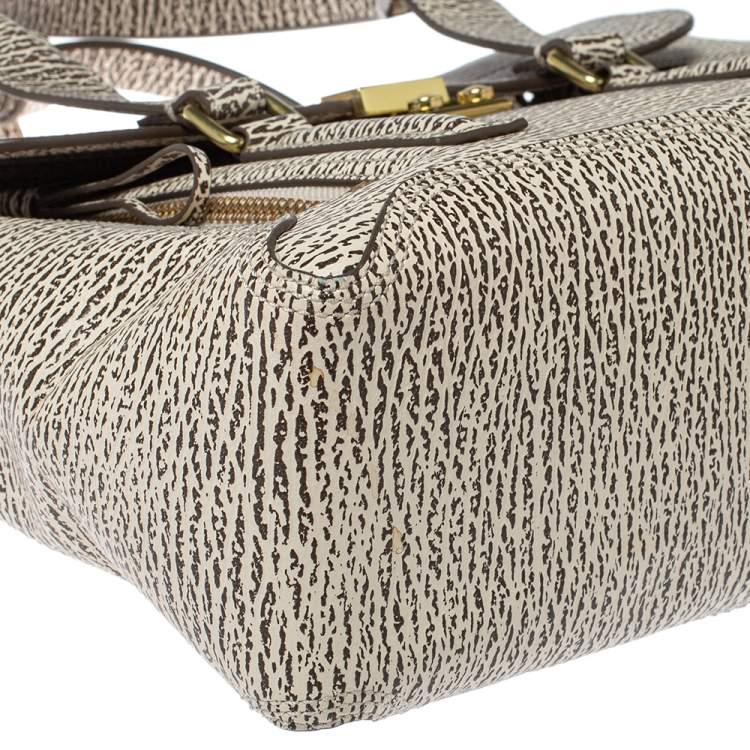 3.1 Phillip Lim Antique Beige/Brown Leather Medium Pashli Satchel