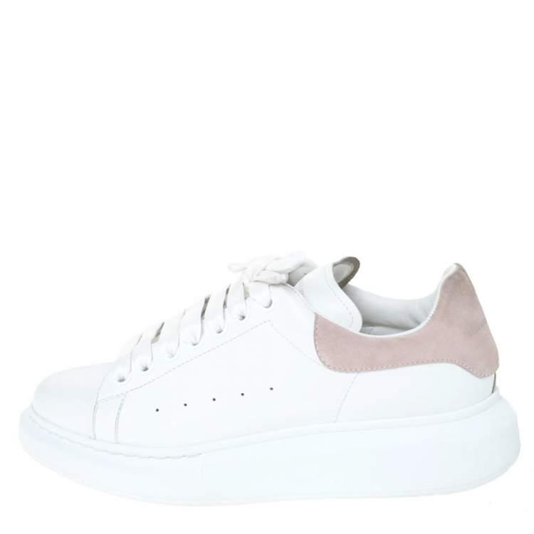 Pink Suede Platform Sneakers Size 41