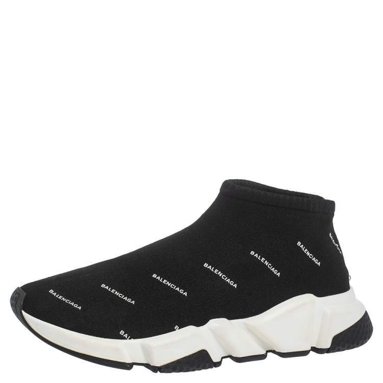 Print Knit Speed Trainer Sneakers Size