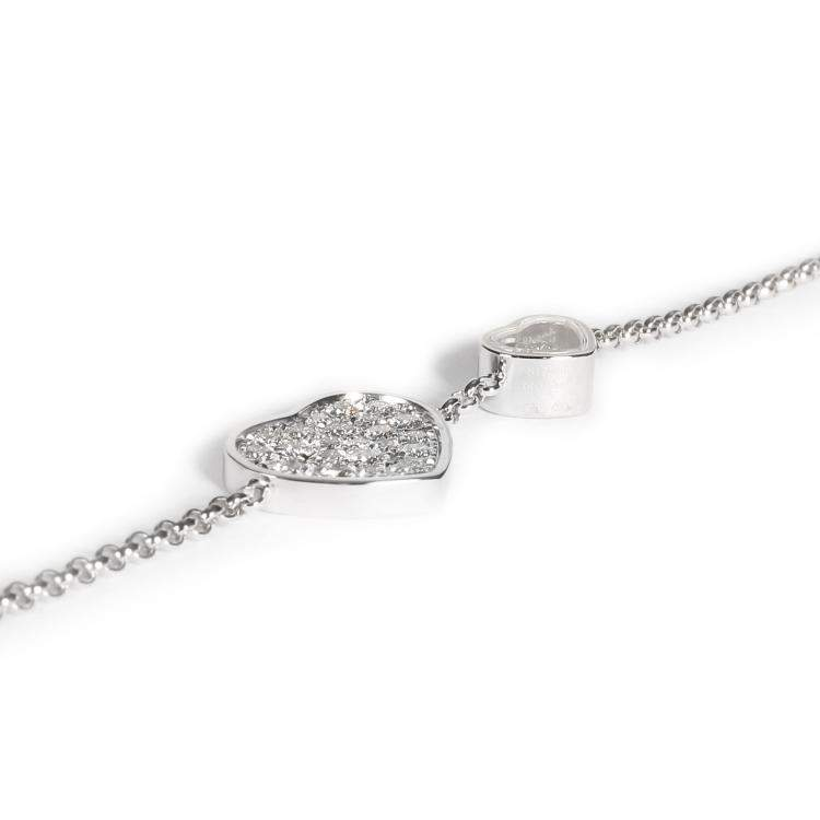 Chopard Happy Hearts Naked Hearts Foundation Mother of Pearl Necklace