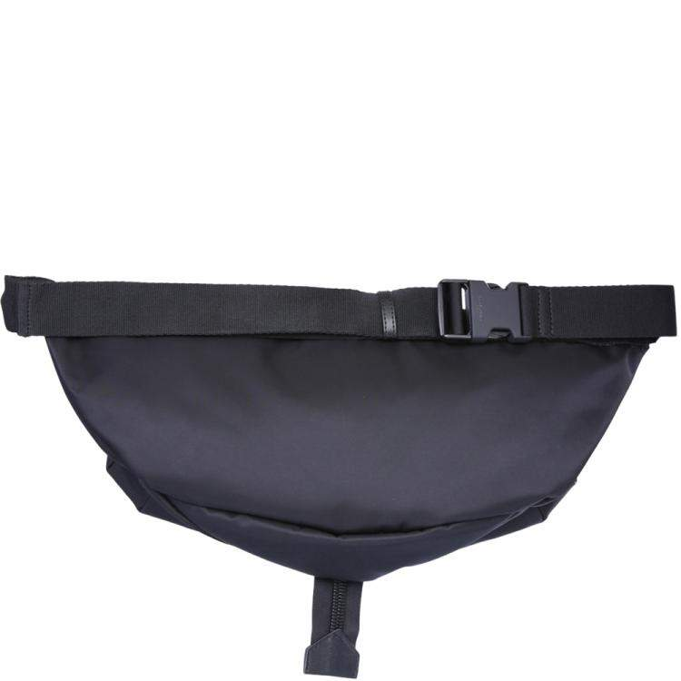 Givenchy Black nylon logo-print belt bag