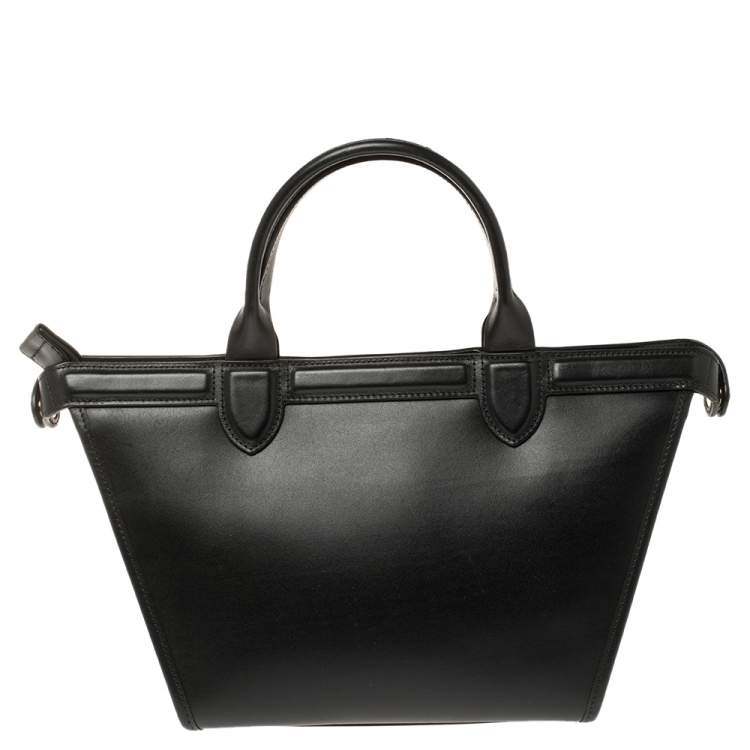 Longchamp Multicolor Leather and Canvas Le Pliage Heritage Tote