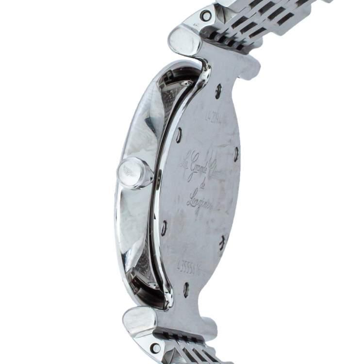 Longines Mother Of Pearl Stainless Steel La Grande Classique De Longines Women's Wristwatch 24mm