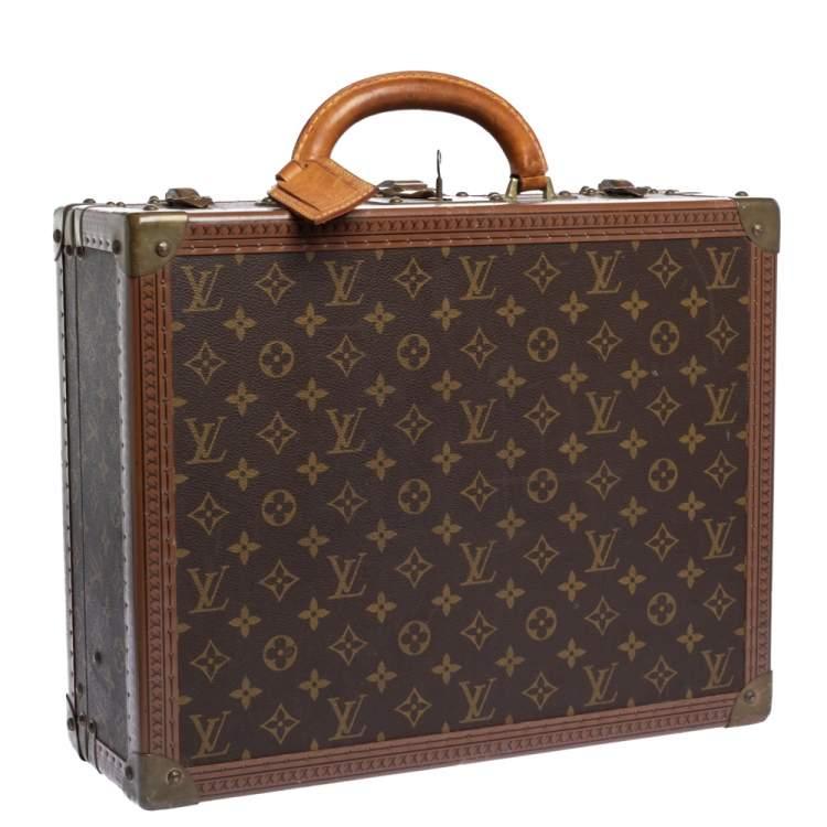 Louis Vuiton Monogram Canvas Cotteville Hardsided Briefcase 40
