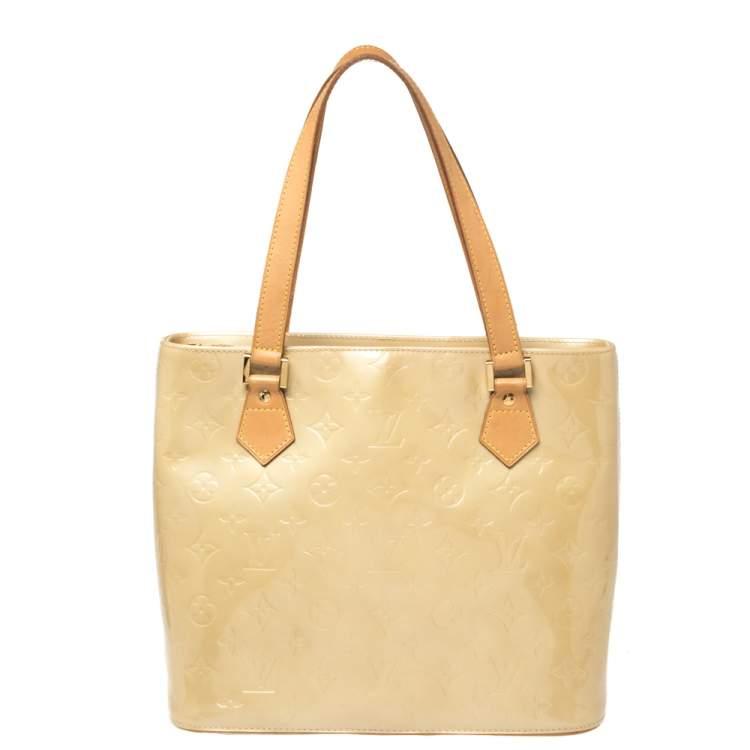 Louis Vuitton Mango Monogram Vernis Houston Bag