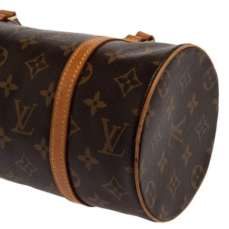 Louis Vuitton Monogram Canvas Papillon 28 Bag