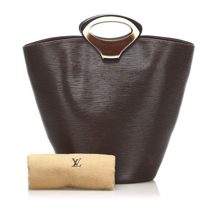 Louis Vuitton Brown Epi Leather Noctambule Bag