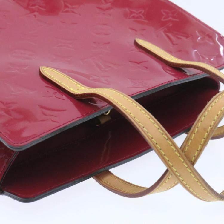 Louis Vuiiton Red Monogram Vernis Catalina BB Bag