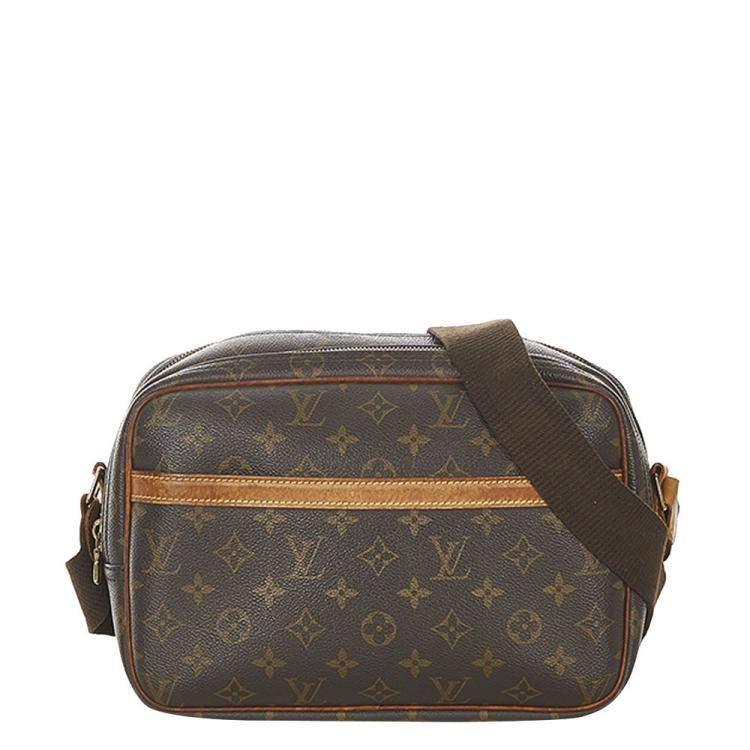 Louis Vuitton Monogram Canvas Reporter PM Bag