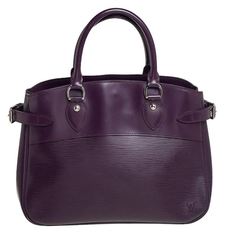 Louis Vuitton Cassis Epi Leather Passy PM Bag