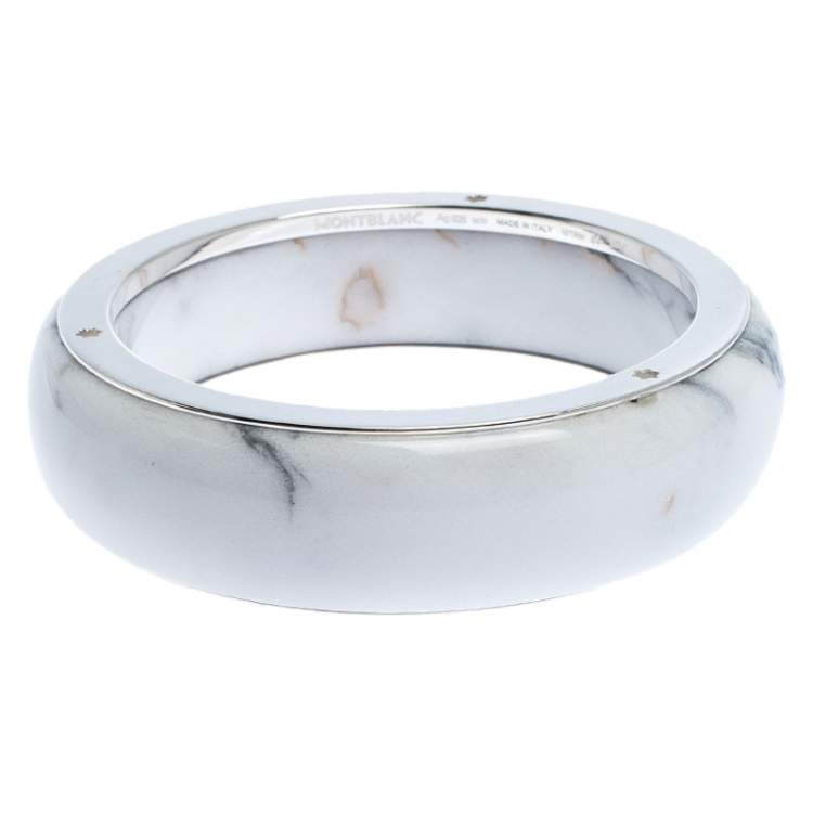White Resin Bracelet