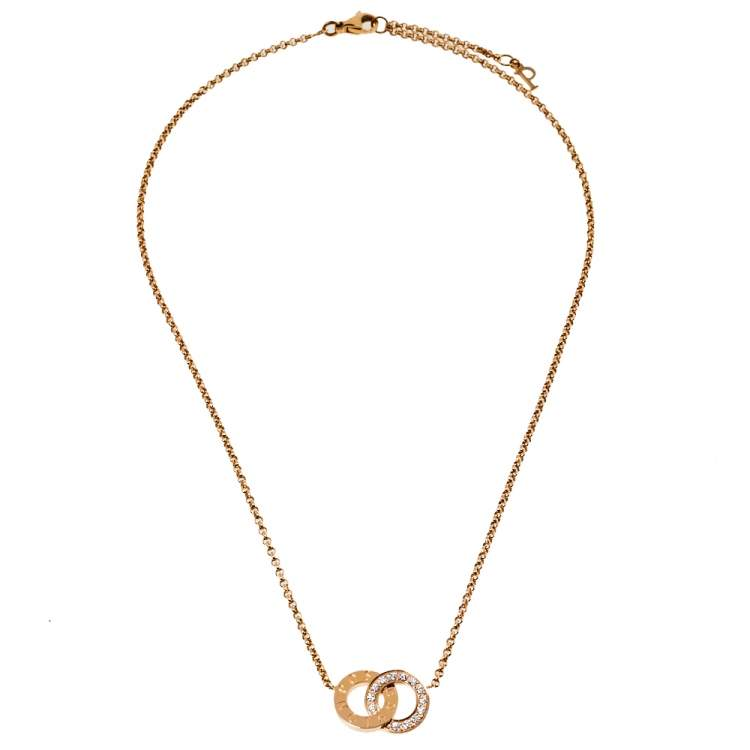 Piaget Possession Toi & Moi Diamond 18K Gold Pendant Necklace