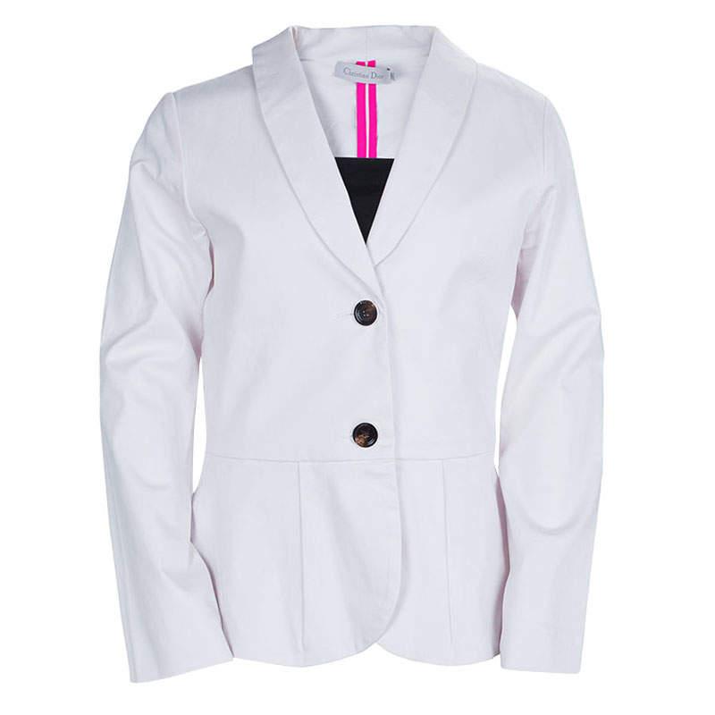 Dior Pale Pink Fitted Blazer 10 Yrs