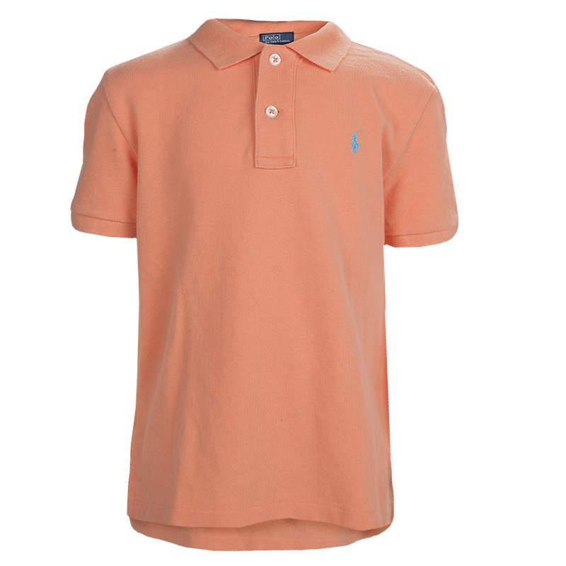 Polo By Ralph Lauren Orange Polo T-Shirt 6 Yrs